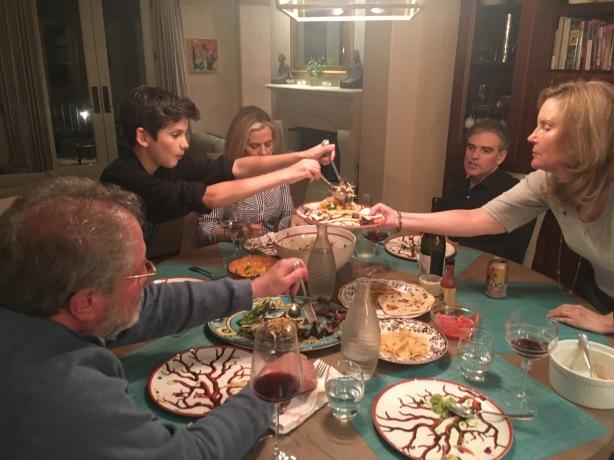 dinnerfamily